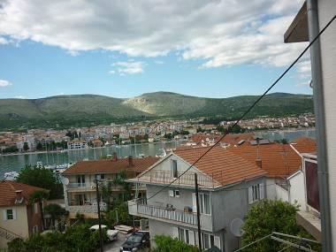 A1(2+2): terrace view - 8029  A1(2+2) - Trogir - Trogir - rentals