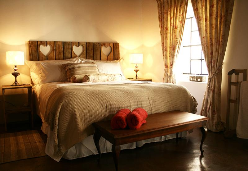 Bain's Barn Bedroom - Bain's Barn Cape Dutch architecture romantic - Tulbagh - rentals