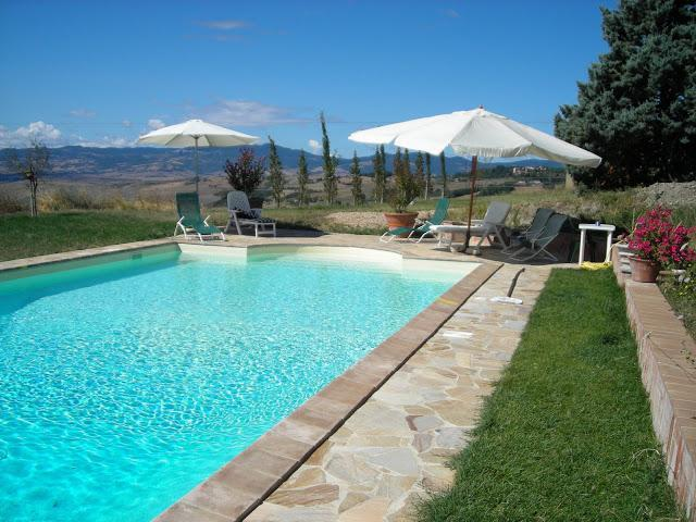 The Private and Panoramic Swimming pool - Charming Country Villa with Panoramic Private Pool - San Casciano dei Bagni - rentals