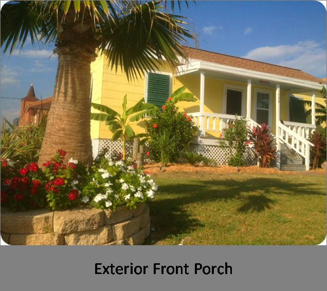 Key West Tropical Bungalow - Key West Tropical Bungalow -1 1/2 Block from Poret - Galveston - rentals