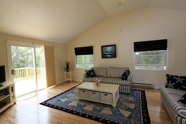 Living room with wood floors - 38 Sandy Neck Rd - East Sandwich - rentals