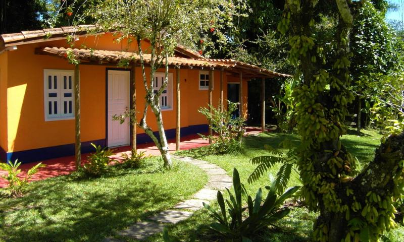 view of cottage with veranda - Casa Cottage & Pool  Porto Seguro  max 4 people - Porto Seguro - rentals