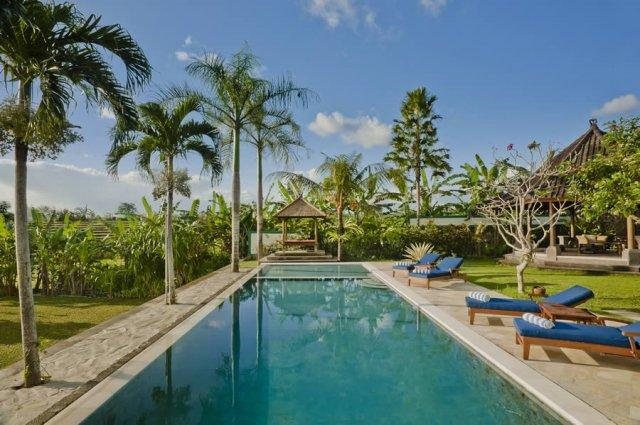 Pool 18 m - Junno Villa - Luxury 5BR Rice Field View, , Canggu - Canggu - rentals