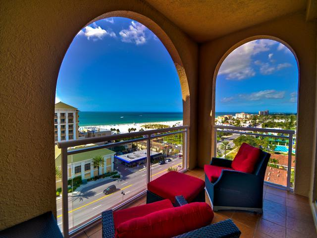 Remarkable views from the west facing balcony - Belle Harbor Penthouse 1002W Lifestyles of the Rich and Famous - Still - Clearwater Beach - rentals