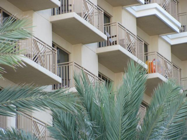 Balconies overlooking the pool and beach - Sandpearl Resort 1Bdrm Bay/Coastal King Suite Four-Diamond Amenities  and  Services - Clearwater Beach - rentals