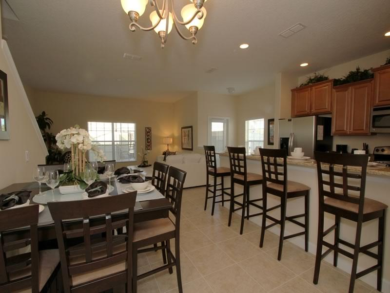 5BR/4BA Paradise Palms Pool townhome CAL8967 - Image 1 - Kissimmee - rentals