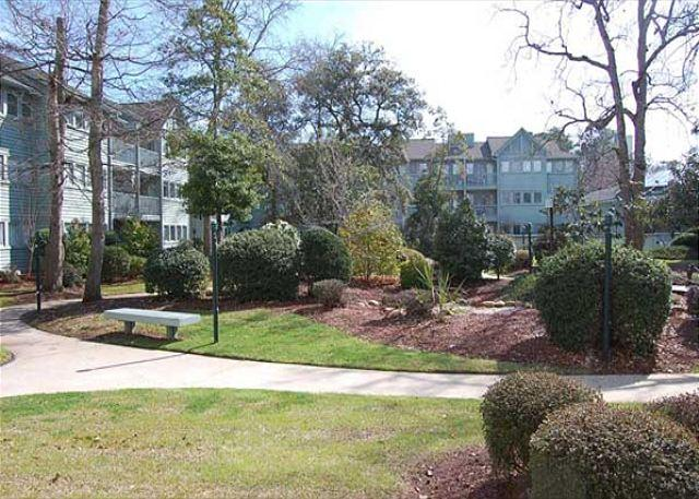 Awesome Vacation Retreat with a Private Courtyard at Myrtle Beach Resort - Image 1 - Myrtle Beach - rentals