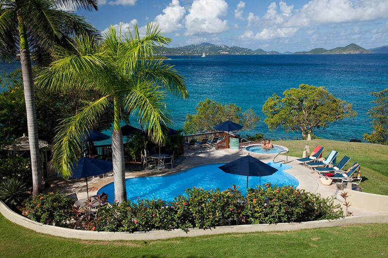 Pool - Gallows Point  - 6B Oceanfront with Sunset Views - Cruz Bay - rentals