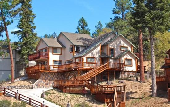 Moose Manor Cabin a Vacation Cabin in Big Bear where you can enjoy those lazy days in front of an incredibly inviting stone fireplace or outdoor hot tub. - Image 1 - Big Bear Lake - rentals