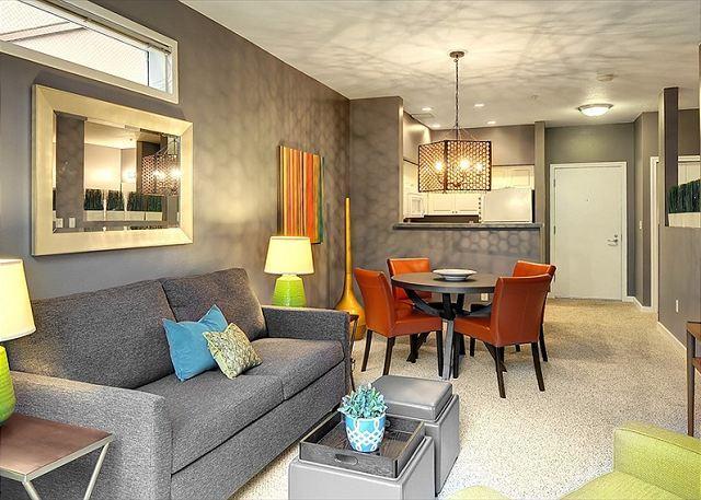 Spacious Studio Plus Condo! - Fabulous, Newly Designed Studio in Belltown Court - Sea to Sky Rentals! - Seattle - rentals