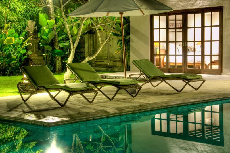 Night pool - Villa Alir - Canggu - Bali - Canggu - rentals
