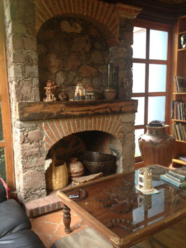 Chimney - Colonial Style house for Rent. - San Miguel de Allende - rentals