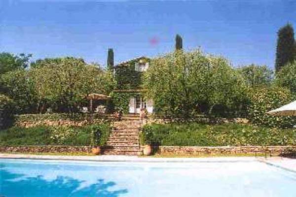 Foliage covered Bastide- style villa. AZR 168 - Image 1 - Cannes - rentals