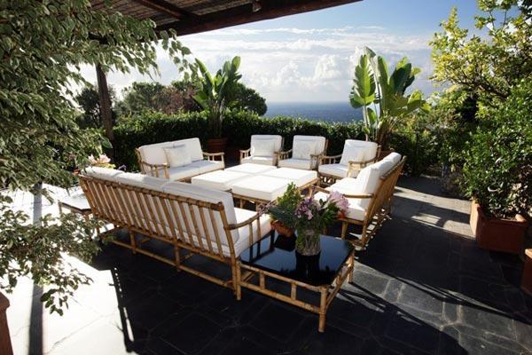 Portofino family estate on 12 acres high above the coast. BRV BAR - Image 1 - Portofino - rentals