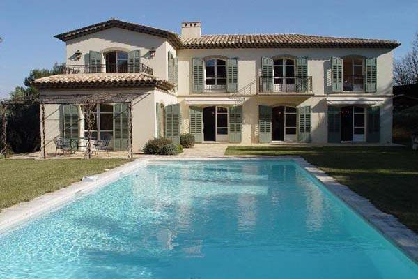 15 minute walk from Mougins, Great 5 Bedroom Modern Style House - Image 1 - Cannes - rentals