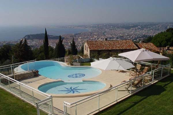 Unique pool, overlooking the ocean. AZR 296 - Image 1 - Cannes - rentals