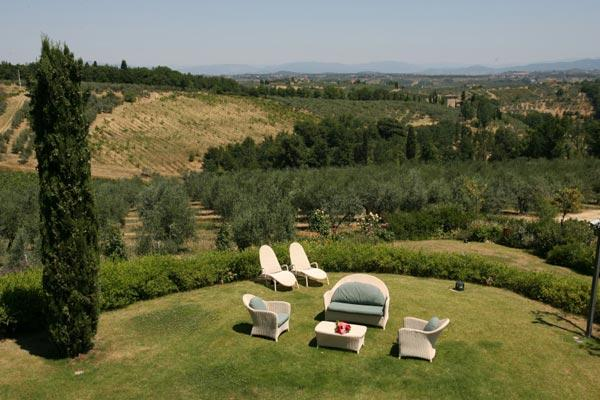 2-story villa between Florence and Siena. BRV CHI - Image 1 - Chianti - rentals