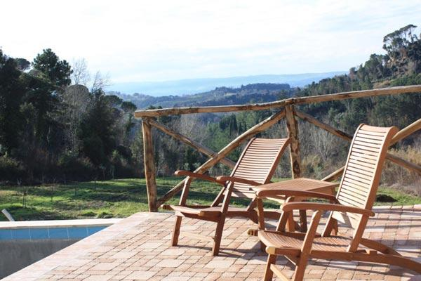 360 degree panoramic views of the Italian countryside. BRV POL - Image 1 - Tuscany - rentals