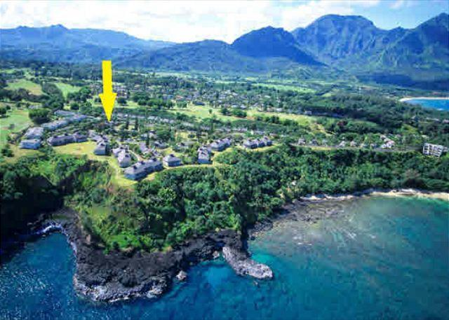 Pali Ke Kua #13 with Garden Views.  Sleeps 6 comfortably! - Image 1 - Princeville - rentals