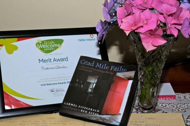 Failte Ireland Award - Cappa Veagh B&B - Galway - rentals