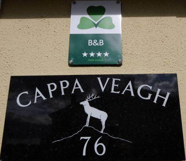 "Cappa Veagh Logo  ""Hill of the Deer"" - Cappa Veagh B&B - Galway - rentals"