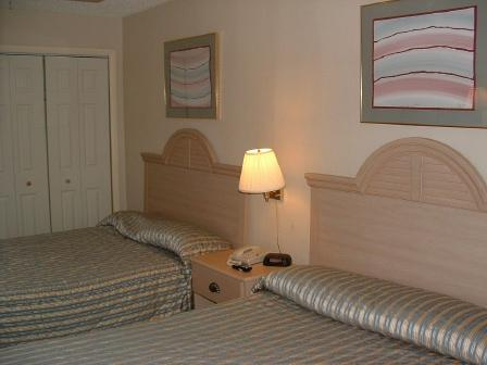 Bedroom - Palms 403 One-bedroom Oceanfront Suite in the Heart of Myrtle Beach! - Myrtle Beach - rentals