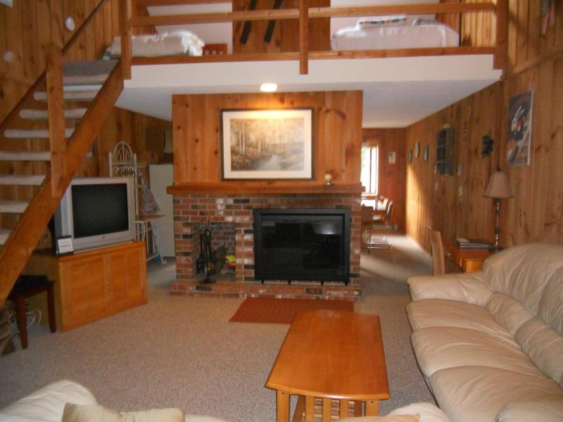 "tv shown has been replaced with 40"" hi-def - Lovely Mt Snow Condo - Dover - rentals"
