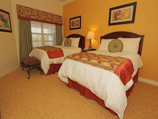 Double Bedroom - RE3C7613CC-402A Luxuriously Furnished 3BR Vacation Condo in Kissimmee - Orlando - rentals