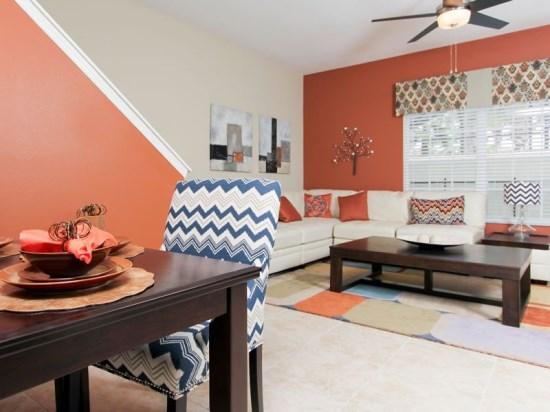 Interior View - PP5T8951MPR Nicely Decorated Townhouse Nestled in Kissimmee - Orlando - rentals