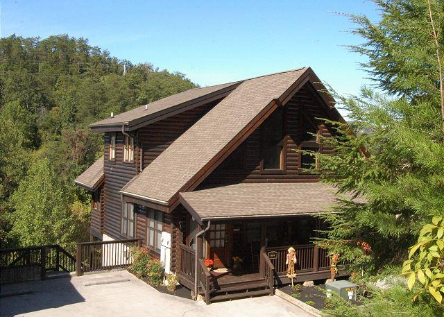 Cabin Fever-Pigeon Forge Cabin Rental - Cabin Fever 285, 2br log townhouse in Pigeon Forge TN,Near Golf and Dollywood - Pigeon Forge - rentals
