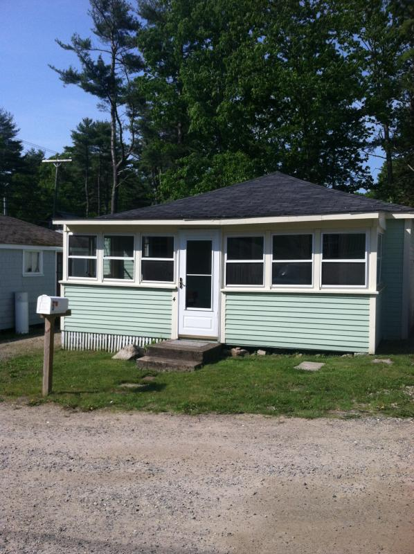 front elevation of cottage - Short walk to Long Sands Beach - York Beach - rentals