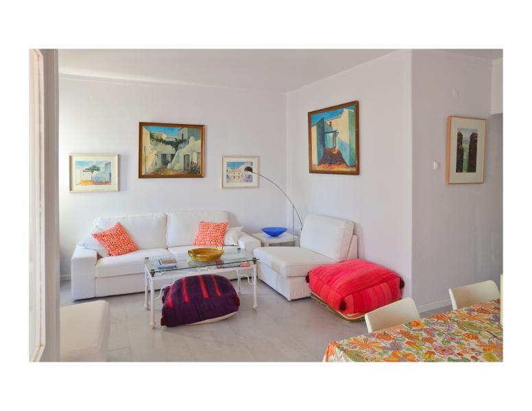Algarve beach front w/ balcony ** WiFi ** - Image 1 - Armação de Pêra - rentals