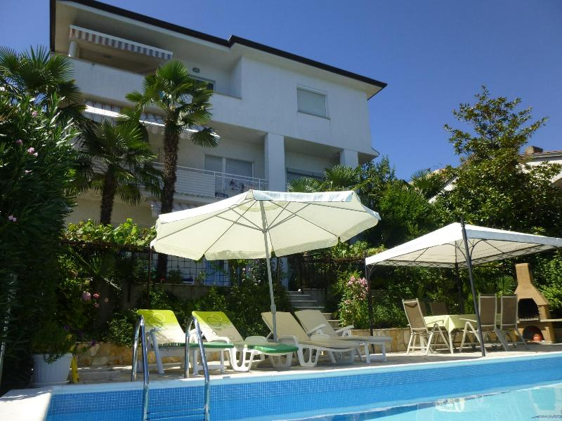 VILLA GROZIC - A1 - apartment with pool - Opatija - rentals