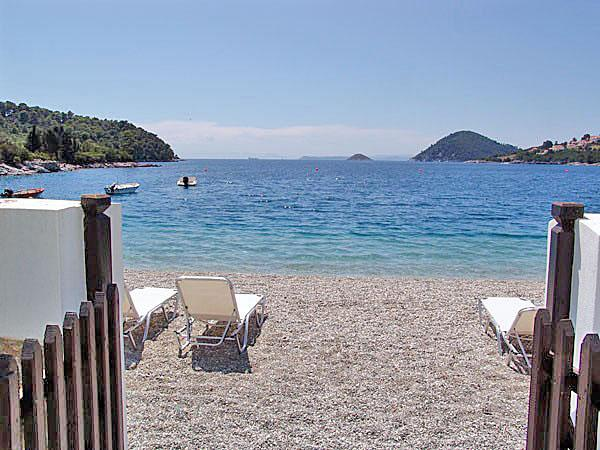 Psarianos beach access - Psarrianos Beach Apartments - Skopelos - rentals