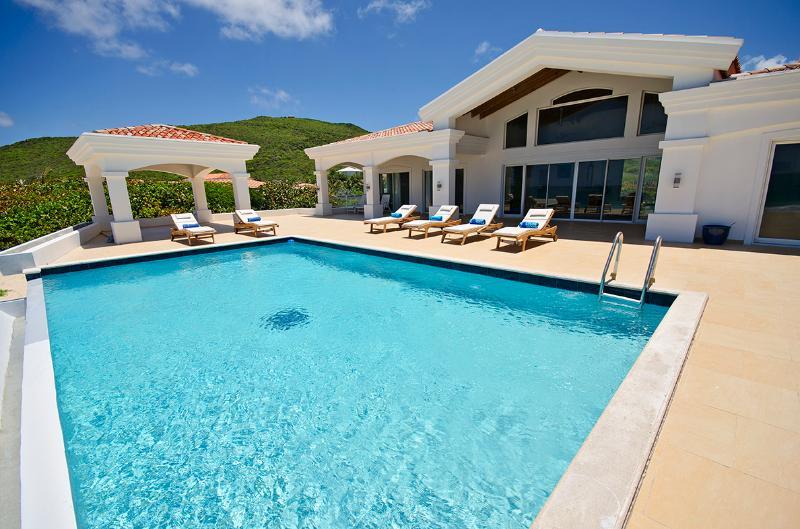 Casa Sunshine at Guana Bay, Saint Maarten - Beachfront, 2 Pools, Tropical Breezes - Image 1 - Guana Bay - rentals