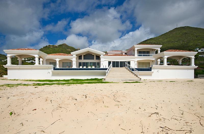 Casa Sunshine... Guana Bay, St Maarten 800 480 8555 - CASA SUNSHINE...beach front villa on Guana Bay, St Maarten - Guana Bay - rentals
