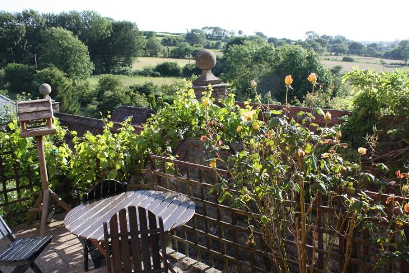 view from terrace - Hardwick Flat Barnstaple North Devon self catering - Barnstaple - rentals