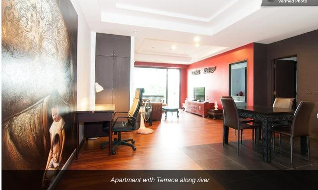 Loft one bedroom with big terrace - Image 1 - Bangkok - rentals
