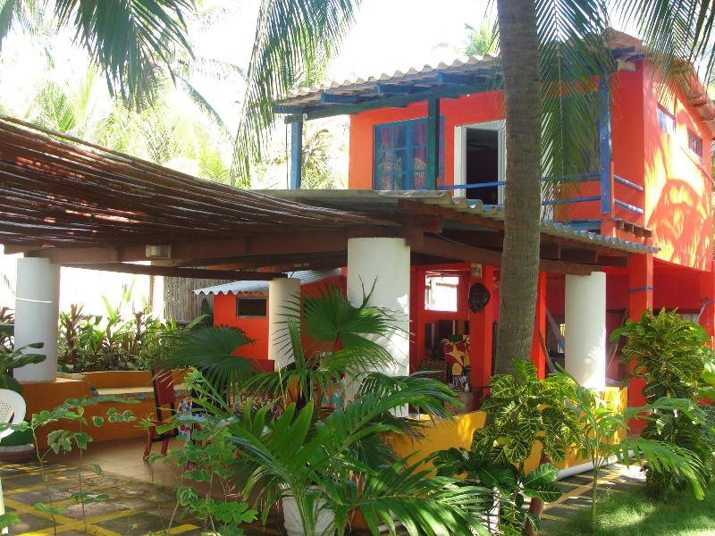 Oceanfront Tropical Paradise Viewing the Ocean and Estuary (Barra de Santiago) - Image 1 - Barra de Santiago - rentals