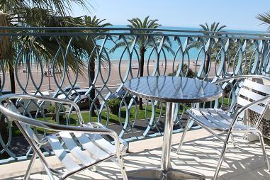 view balkony - Stunning Apartment 73,  Promenade De Anglais - Nice - rentals