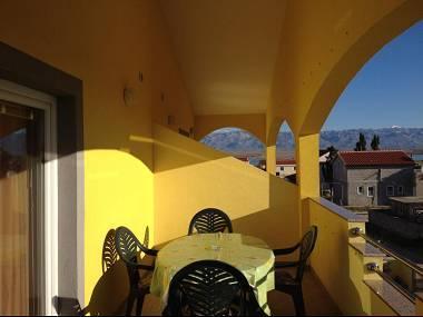 A3(4+2): covered terrace - 8046 A3(4+2) - Vir - Vir - rentals
