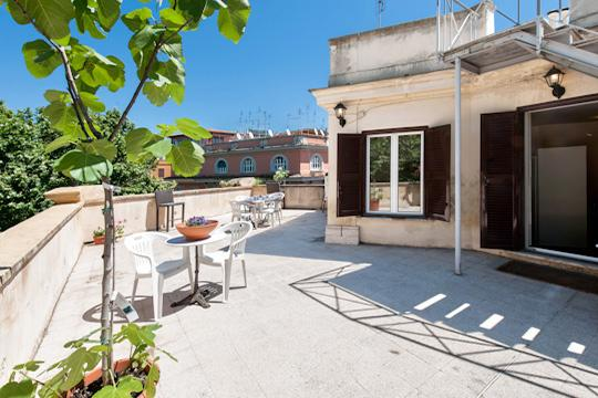 Trastevere Panoramic  ** Cocoon Amazing Terrace (ROME) - Image 1 - Rome - rentals