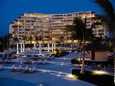 Night time view of Delcanto - Del Canto Luxury Beachfront Condo with Ocean Views - Nuevo Vallarta - rentals