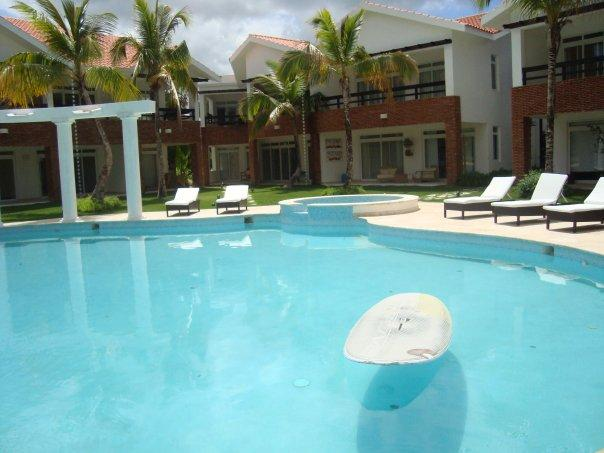 Swimming pool of the appartment - Charming appartment near the beach - Punta Cana - rentals