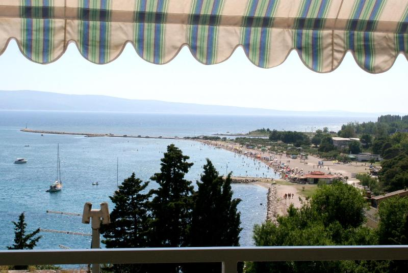 "balcony view A1(7+1) - APARTMENTS ""ZORE"" - A1(7+2) - Omis - rentals"