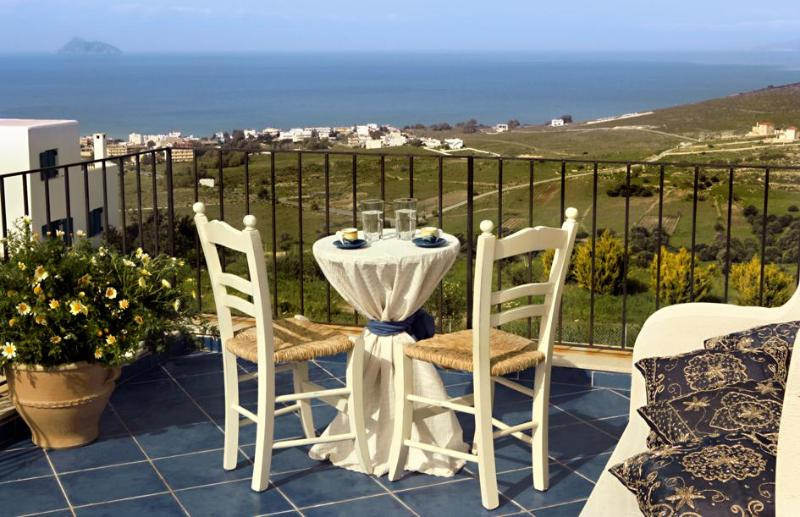 Villa Athusa, view on the sea in South of Crete - Image 1 - Kamilari - rentals