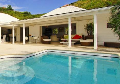 Ylang Ylang at Flamands, St. Barth - Ocean View, Large and Sunny Deck, Pool - Image 1 - Flamands - rentals
