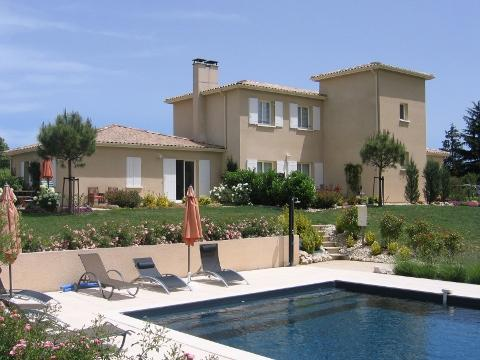 House Arbre de Rose rear - Holiday-home Arbre de Rose in South of France - Loubes-Bernac - rentals