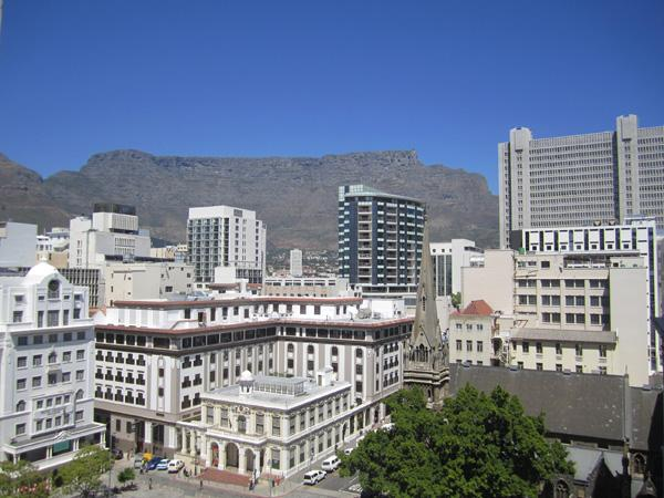 View from the balcony - Greenmarket Place apartment - Cape Town - rentals