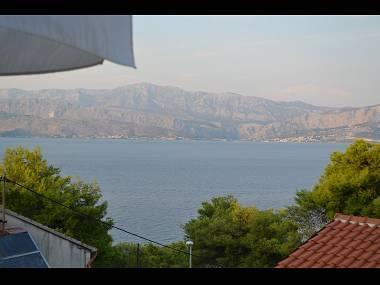A2(6): terrace view - 8055 A2(6) - Postira - Postira - rentals